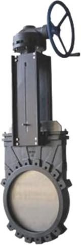 Knife gate with gearbox_0